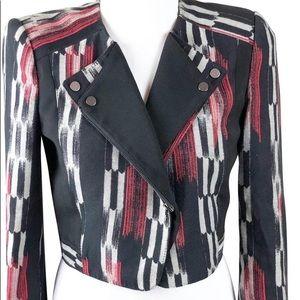 BCBG Max Azria Nathan Moto Jacket